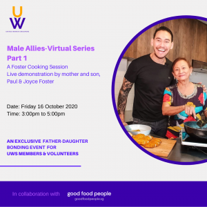 This event is part of UWS Male Allies Virtual Series.