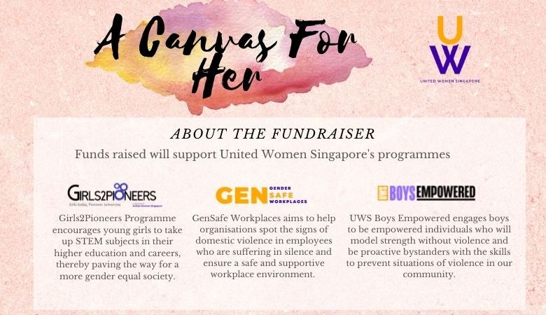 A Canvas For Her-An Art Fundraising Event